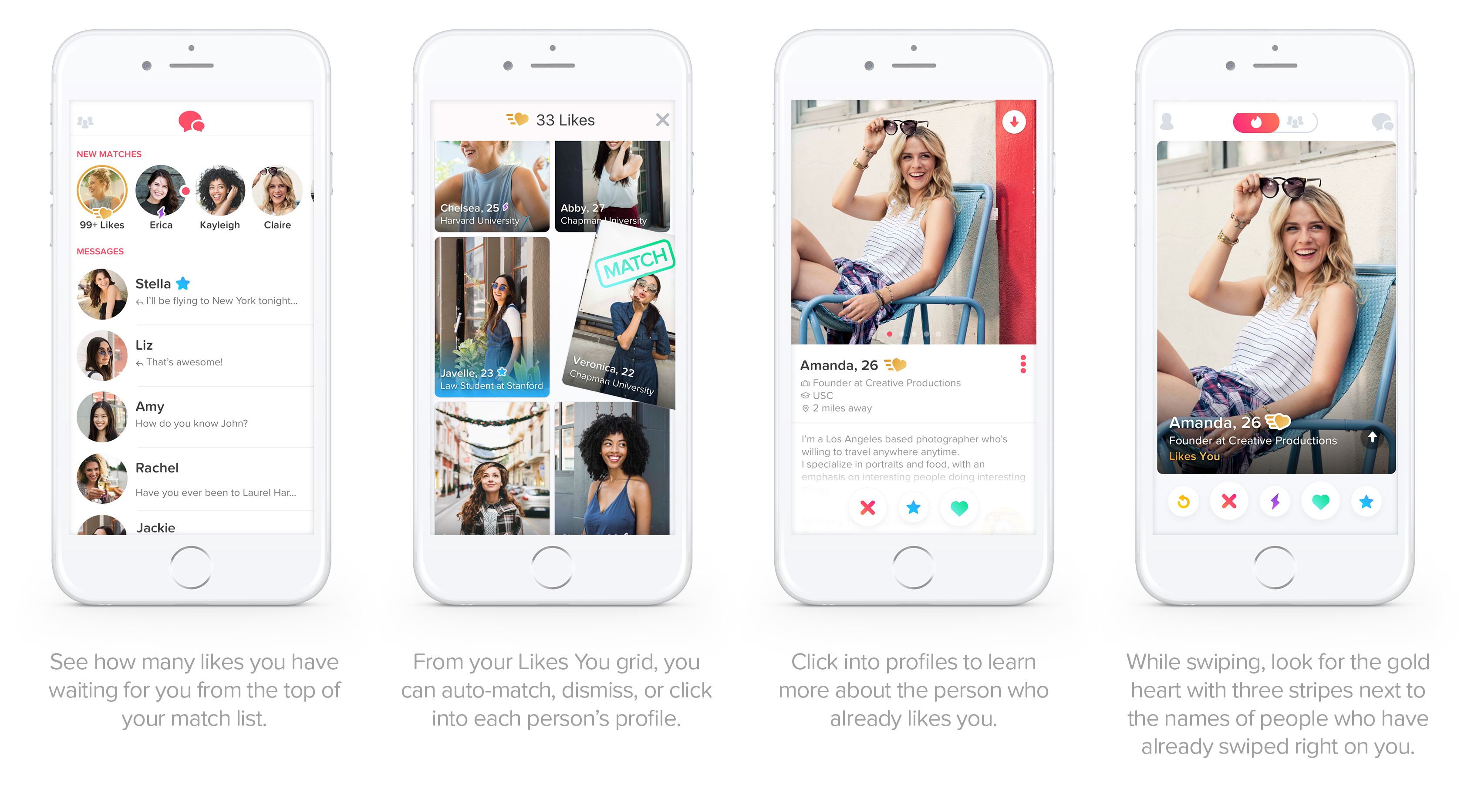 Find out who liked you on tinder